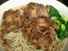 Oxtail Noodle Soup Posted by CAB  http://www.cabcooks.com/2009/03/20/oxtail-noodle-soup/