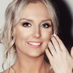 How absolutely gorgeous - yes, Natasha, indeed, you look stunning. Must say, so does your magnificent cushion-cut Congratulations from all here at --- You Look Stunning, Absolutely Gorgeous, Romantic Love Stories, Diamond Life, Cushion Cut, Stuff To Do, Love Story, Sydney, Wedding Planning