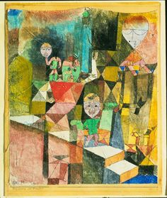 Introducing the Miracle by Paul Klee 1916