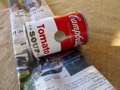 Cottage Hill: Recycled Newspaper Pots