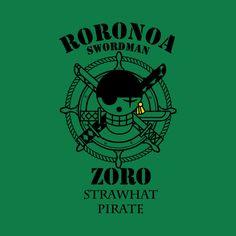 Awesome 'Rorona+Zoro+One+Piece+Anime+and+Manga' design on TeePublic!