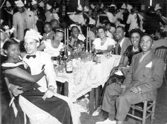 San Francisco 1940s Women | 1940s El Dorado Ballroom