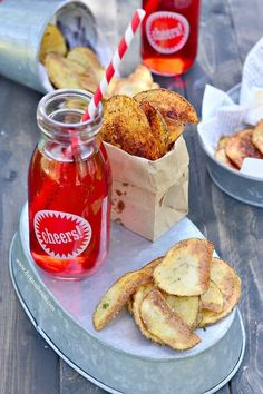 (via Homemade BBQ and Sour Cream & Onion Potato Chips | Fork...   #healthy #vegetarian #vegan #recipes Find more healthy recipes @ http://standouthealth.com