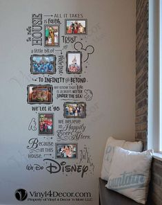 Disney In this house We do Disney Photo Collage 4 x 6 and 5 x