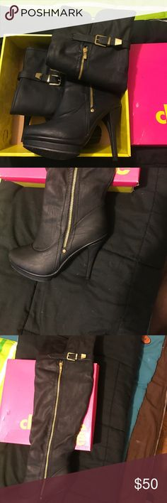 Thigh high boots! These thigh highs are definitely high in style! Charlotte Russe Shoes Over the Knee Boots