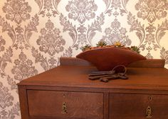 Wallpaper for Private Home. Charli Paci Couture Interiors. South Africa.