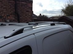 PEUGEOT TEPEE PARTNER ALUMINIUM ROOF RAIL BARS RACKS SET + CROSS BARS 2008 UP
