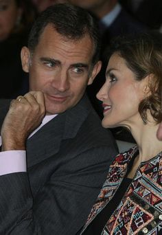 Felipe VI y Letizia en Ciudad BBVA