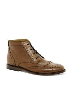 Enlarge ASOS Chukka Boots With Leather Sole