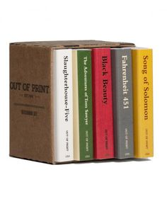 """The gift puts the """"book"""" in """"matchbook"""" with a tiny library of matchboxes replicating banned fiction. (No, Stephen King's Firestarter is not included.) Each """"book"""" is printed with the real-life tome's original cover on one side and the reason it was banned on the other. Bonus: Every time you buy a set, the company will donate a book to a community in need."""