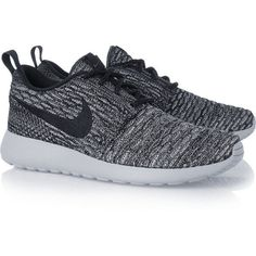 Nike Roshe One Flyknit mesh sneakers, Women's, Size: 8 ($145) ❤ liked on Polyvore featuring shoes, sneakers, nike, sapatos, nike footwear, cushioned shoes, yoga shoes, yoga footwear and light weight shoes