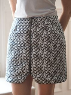 394f5d99c2b7 Couture   la jupe sister mini de Vanessa Pouzet - Like A Bobo  couture  jupe