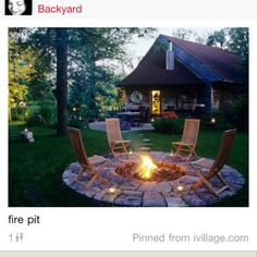 Would love to have this firepit