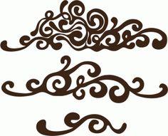 Silhouette Design Store - View Design #46464: fancy motifs set
