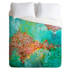 Stephanie Corfee Whisper Duvet Cover Luxe QUEEN Sample Sale | DENY Designs Home Accessories