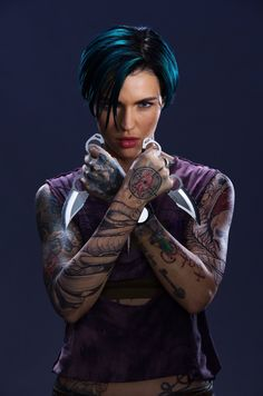 Ruby Rose young photos best and new movies tv shows early acting career body measurements height weight hair color. Rubin Rose, Short Hair Cuts, Short Hair Styles, Return Of Xander Cage, Orange Is The New, Australian Models, Photos Du, Woman Crush, Inked Girls
