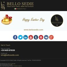 Happy Easter from Bello Sedie!