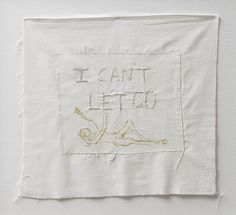 TRACEY EMIN I Can't Let Go, 2007  Shame she had a lot of her work done by others...