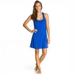 Roxy Jurk Beach Bright Dress. Dit kleedje van Roxy is gemaakt van katoen en heeft een A-lijn vorm. Het materiaal voelt zeer licht aan en het roxy logo staat op de zijkant. #damesmode #zomercollectie #zomerkledingdames #zomerkleding