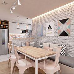 Unique Home Decor .Unique Home Decor Dining Nook, Dining Room Design, Kitchen Dining, Basement Kitchen, Dining Chair, Unique Home Decor, Cheap Home Decor, Home Decor Furniture, Home Decor Inspiration
