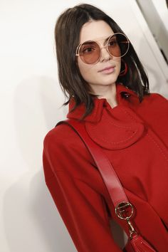 Kendall Jenner Photos Photos - Kendall Jenner is seen backstage ahead of the Fendi show during Milan Fashion Week  Fall/Winter 2017/18 on February 23, 2017 in Milan, Italy. - Fendi - Backstage - Milan Fashion Week Fall/Winter 2017/18