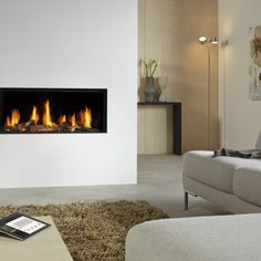 Hole in the Wall Gas Fires Surrey, Hole In Wall Fires London, Grate Expectations Kids Room Wall Decals, Vinyl Wall Decals, Fireplace Wall, Fireplace Surrounds, Contemporary Gas Fires, Wall Gas Fires, Led Color, Lounge, Color Plata