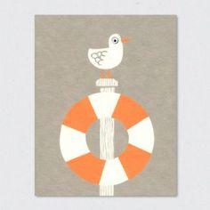 Klappkarte Seagull 2,50 EUR nordliebe.com