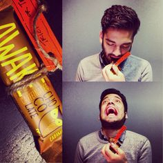 Living these caffeinated chocolate bars Shlry brought to the office. Awake!