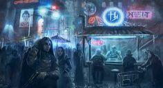 Blade Runner on the run by guang2222 on deviantART