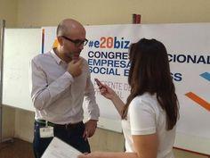 Entrevista en el #e20biz de Sevilla 2013. #socbiz #e20