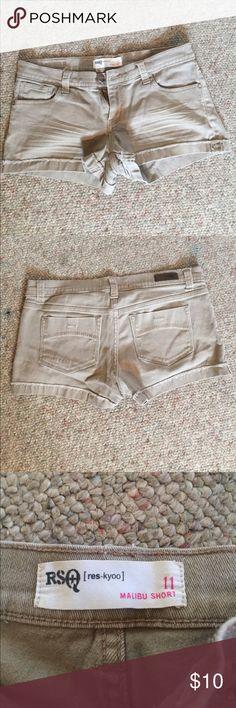 Malibu shorts! Cute tan shorts for summer! Tilly's Shorts