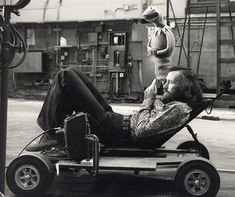 Jim Henson.  Everyone told him he was crazy for creating his own major in puppeteering, but he followed his dreams anways!