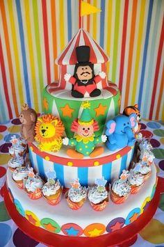 circus+birthday+party+ideas
