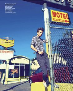 visual optimism; fashion editorials, shows, campaigns & more!: masculin: ellinore erichsen by rene & radka for marie claire france march 201...
