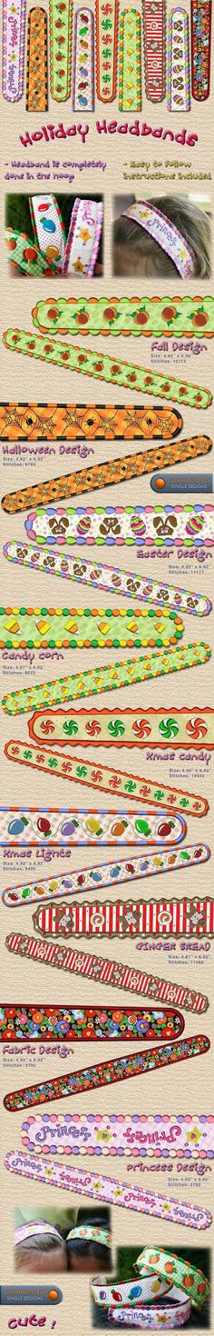 Headbands Embroidery Designs Free Embroidery Design Patterns Applique