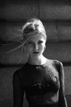 "Jessica Choay Collection ""Rita"" dress . Photo by Celeste Leeuwenburg . Model Daria Advienko . MUAH Mathilde David"