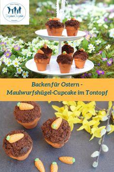 Cupcake, Ostern, Rezept, Tontopf, backen im Tontopf, Kinder, Quark-Öl-Teig, Brunch, brunchen, Familienfeier