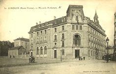 La nouvelle préfecture vers 1903 - Bfm Limoges.