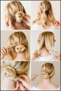Hochsteckfrisuren selber machen – 31 Ideen & Anleitungen #Frisuren #HairStyles Hochsteckfrisuren mittellange Haare