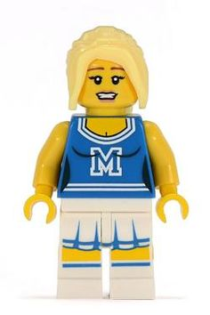 Minifigures Serie 1 - Cheerleader