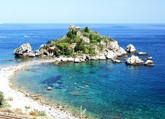 Isola Bella, Taormina, Sicilia, Italy