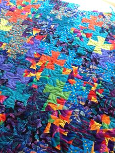 Twister quilt. Twister Quilts, One Block Wonder, Twisters, Pinwheels, Quilt Making, Abstract, Artwork, Projects, Summary