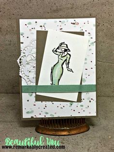 Stampin' UP! Watercolor Pencils – Watercolor Club #beautifulyou #stampinup #remarkablycreated