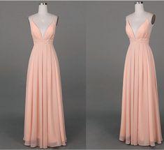 pink straps sexy prom dress, #promdresses, #promdress, #pinkpromdress2016