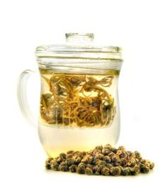 Joli Glass Mug with Infuser...my all-time favorite mug!  I won't make tea unless it's with a GLASS infuser now thanks to this mug!