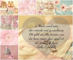 Afrikaanse Inspirerende Gedagtes & Wyshede: 'n Mens word soos die vriende wat jy aanhang. Beautiful Verses, Beautiful Collage, Bible Journaling For Beginners, Afrikaanse Quotes, Quotes For Whatsapp, Diy Gift Baskets, Strong Quotes, Christian Art, True Words