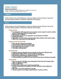 Resume Headers New Combinationhloom  Resume Templates  Pinterest  Resume .