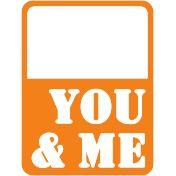 Journaling Card- You & Me