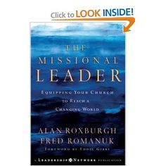 A missional leader needs to foremost be a disciple who develops other disciples who then also develops other disciples, rather than be a chic and charismatic fluff ball of a leader who only influences one generation.