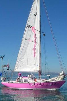 """The Pink Boat"" #sailing #SunorSinCity"